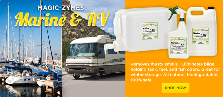 Magic-Zymes Odor Remover for Marine & RV applications
